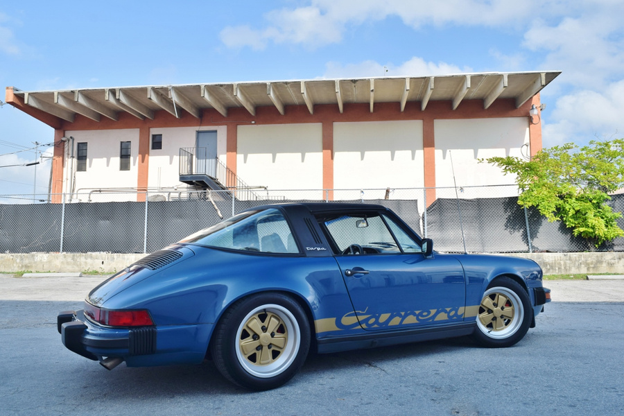 Porsche 911 G-model SC 3.0 Targa 132kW-version, 1982 - #4