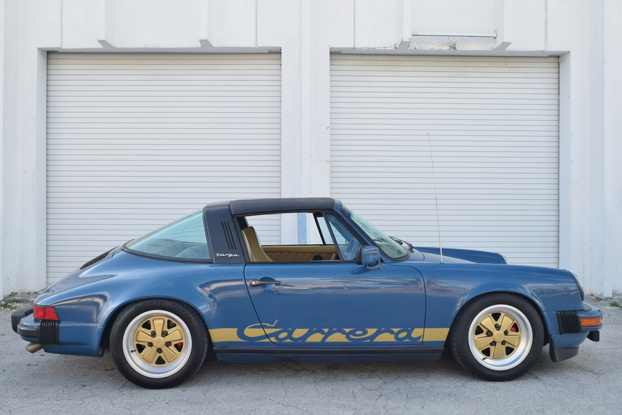 Porsche 911 G-model SC 3.0 Targa 132kW-version, 1982 - #22
