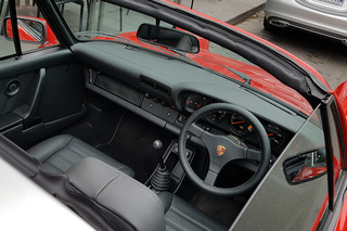 911 G-model SC 3.0 Coupé 150kW-version - Main interior photo