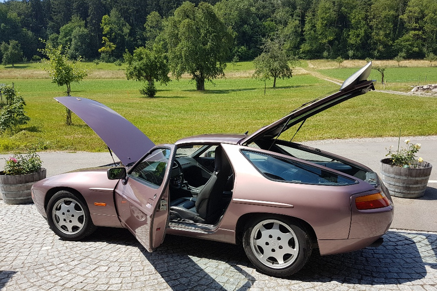Porsche 928 S4 221kW-version, 1990 - #7