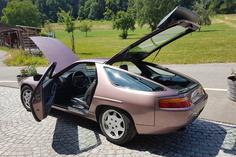 Porsche 928 S4 221kW-version, 1990 - #8