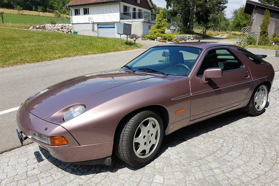 Porsche 928 S4 221kW-version, 1990 - #1