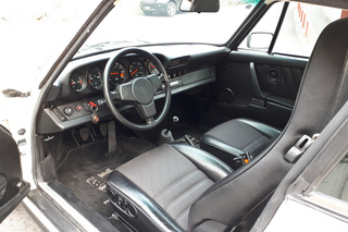 Porsche 911 G-model SC 3.0 Coupé 132kW-version, 1978 - Primary interior photo