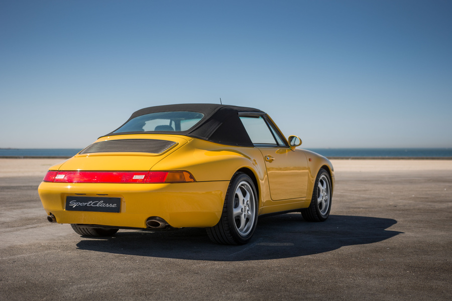 Porsche 911 993 Carrera Cabriolet 3.6 200kW-version, 1994 - #1