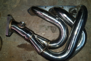 Exhaust manifold set in stainless steel TOY OSP ORT  - Secondary photo