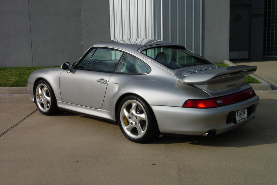 Porsche 911 993 Turbo S 316kW-version, 1997 - #4