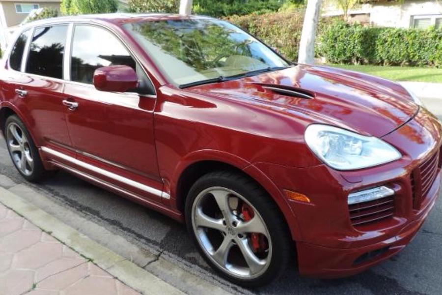 Porsche Cayenne 957 Turbo S 2009 For Show By Mike Stuttcars Com