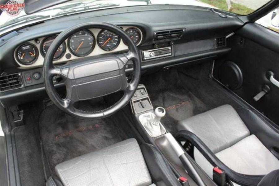 Pics For Gt Porsche 964 Cabriolet Interior