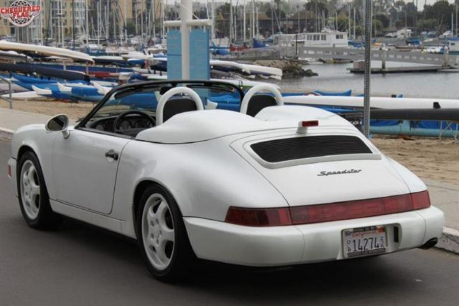 Porsche 911 964 Speedster 1994 For Show By Chequered Flag