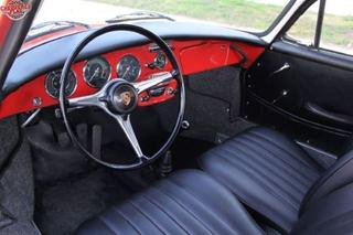 356 C 1600 Coupé - Main interior photo