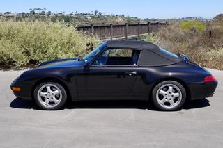 911 993 Carrera Cabriolet 3.6 210kW-version - Main exterior photo