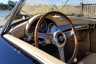 Porsche 356 A 1600 Speedster, 1956 - Primary interior photo