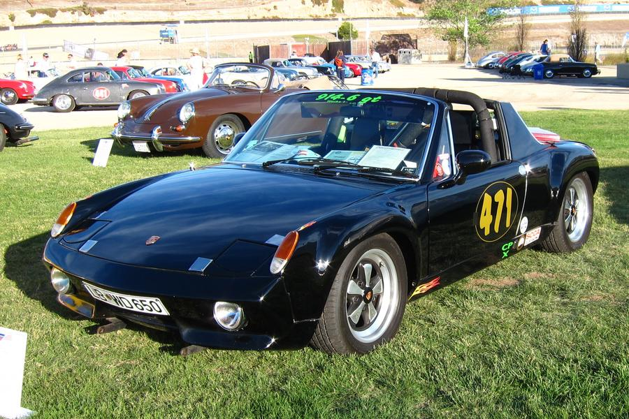 Porsche 914 /6 2.0 M491 racing version, 1970 - #3