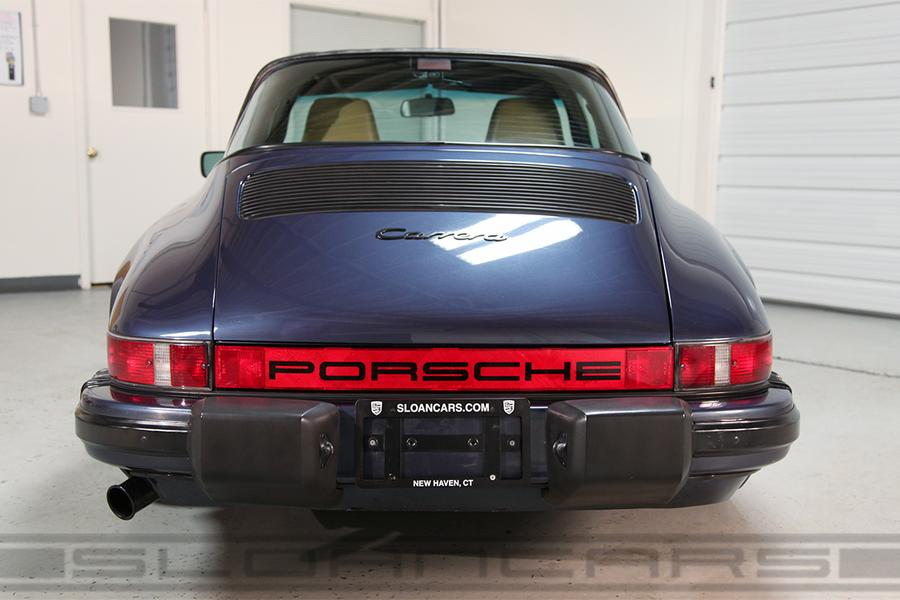 Porsche 911 G-model Carrera 3.2 Targa 160kW-version, 1986 - #7