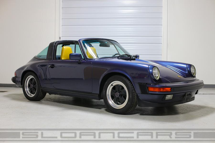 Porsche 911 G-model Carrera 3.2 Targa 160kW-version, 1986 - #1