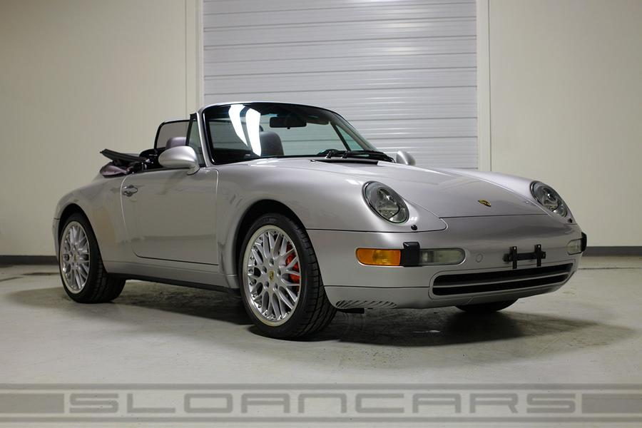 Porsche 911 993 Carrera Cabriolet 3.6 210kW-version, 1998 - #1