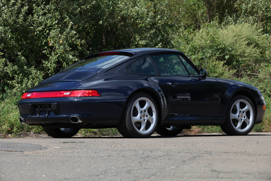 Porsche 911 993 Carrera Coupé 3.6 200kW-version, 1998 - #3