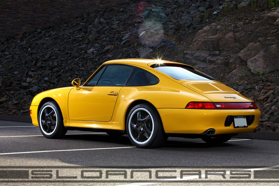 Porsche 911 993 Carrera S 3 6 1997 For Show By Sloancars