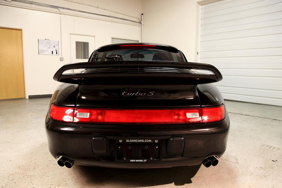 Porsche 911 993 Turbo S 316kW-version, 1997 - #7