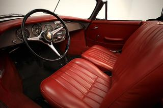 Porsche 356 C 1600 Cabriolet, 1964 - Primary interior photo