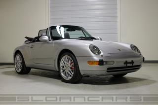 Porsche 911 993 Carrera Cabriolet 3.6 210kW-version, 1998 - Primary exterior photo