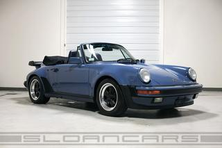 Porsche 911 G-model Carrera 3.2 Cabriolet Turbo-look 152kW-version, 1985 - Primary exterior photo