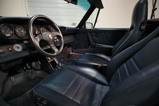 Porsche 911 G-model Carrera 3.2 Cabriolet Turbo-look 152kW-version, 1985 - Primary interior photo