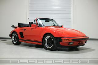 911 G-model Turbo 3.3 Cabriolet Flachbau 210kW-version - Main exterior photo