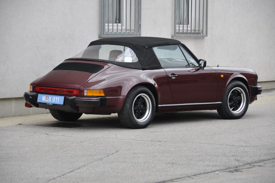 Porsche 911 G-model SC 3.0 Cabriolet 150kW-version, 1983 - #5