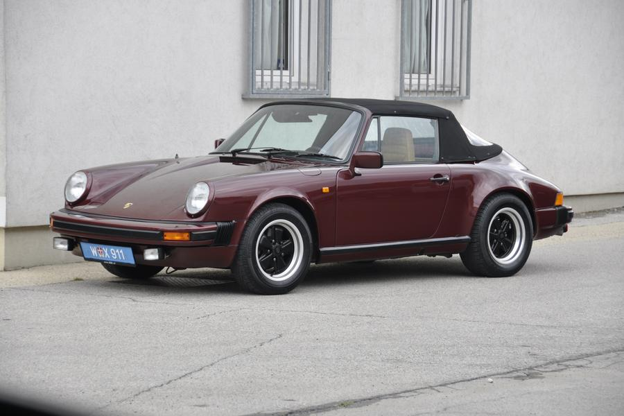 Porsche 911 G-model SC 3.0 Cabriolet 150kW-version, 1983 - #1