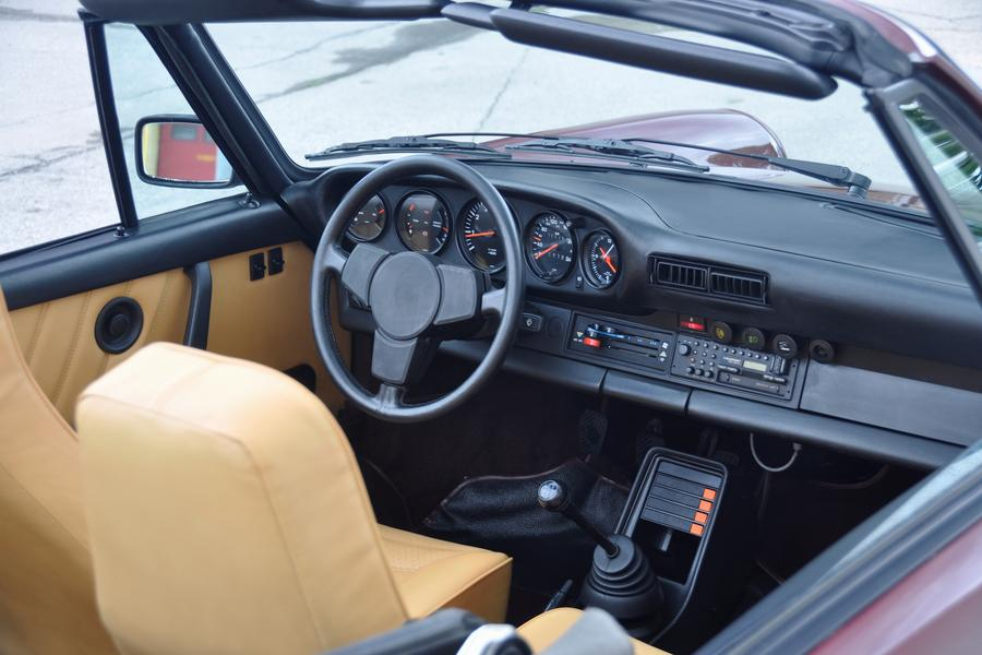 Porsche 911 G-model SC 3.0 Cabriolet 150kW-version, 1983 - #2