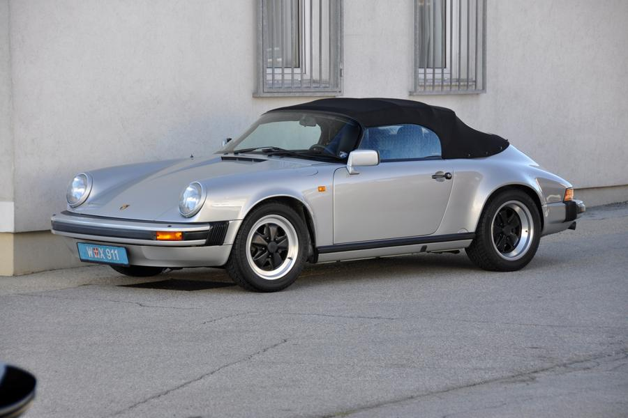 Porsche 911 G Model Speedster 160kw Version 1989 For Show