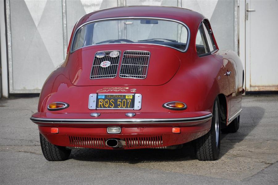 Porsche 356 B T6 2000 GS Carrera 2 Coupé, 1963 - #8