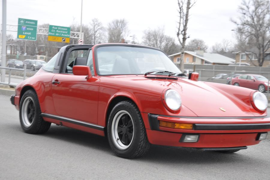 Porsche 911 G-model Carrera 3.2 Targa 160kW-version, 1987 - #21