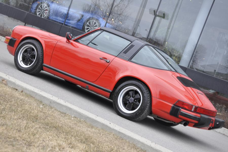 Porsche 911 G-model Carrera 3.2 Targa 160kW-version, 1987 - #12