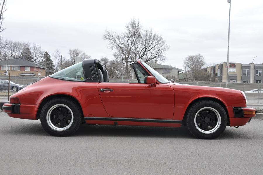 Porsche 911 G-model Carrera 3.2 Targa 160kW-version, 1987 - #22