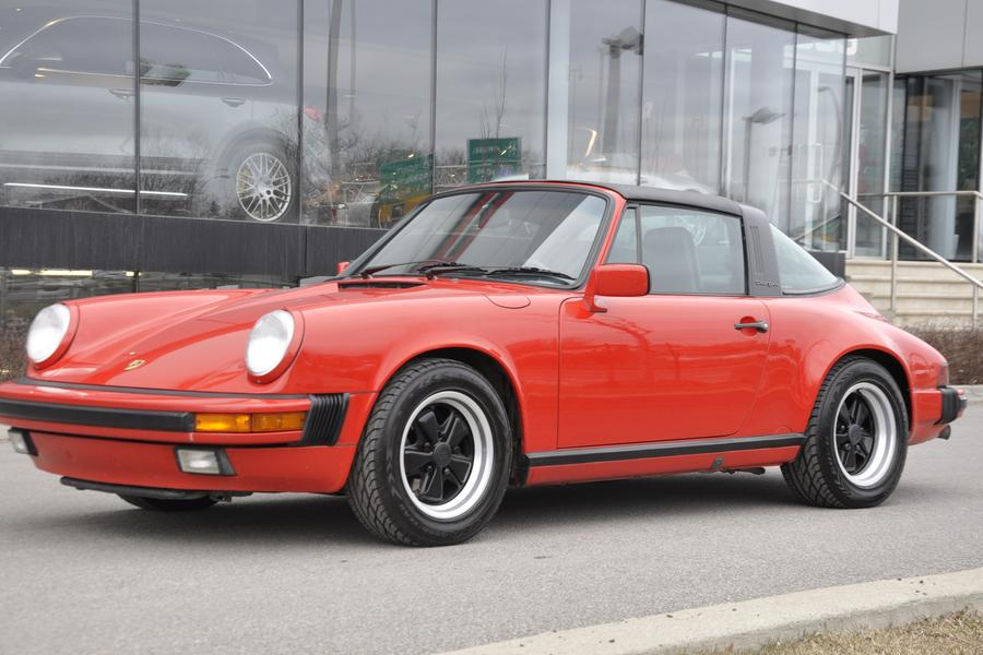 Porsche 911 G-model Carrera 3.2 Targa 160kW-version, 1987 - #11