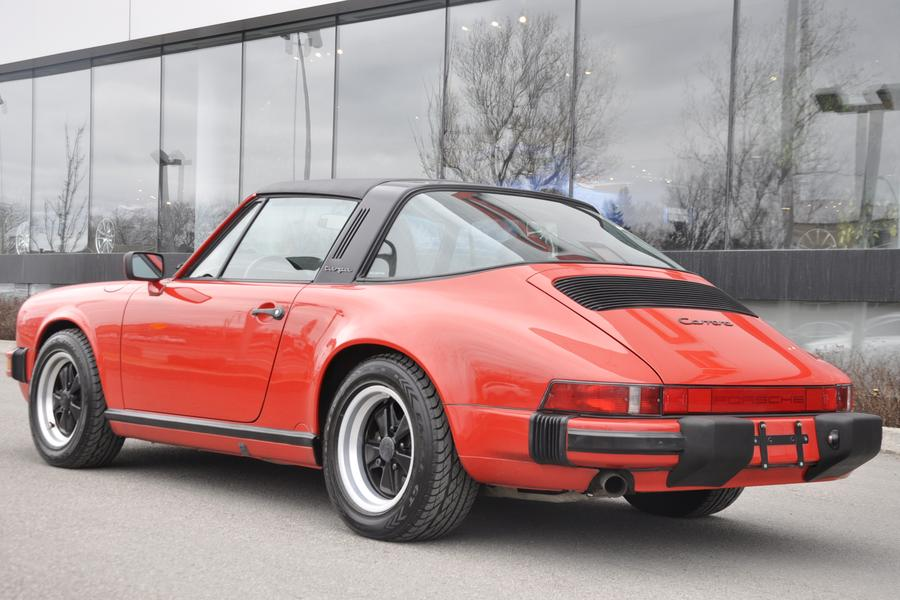 Porsche 911 G-model Carrera 3.2 Targa 160kW-version, 1987 - #9