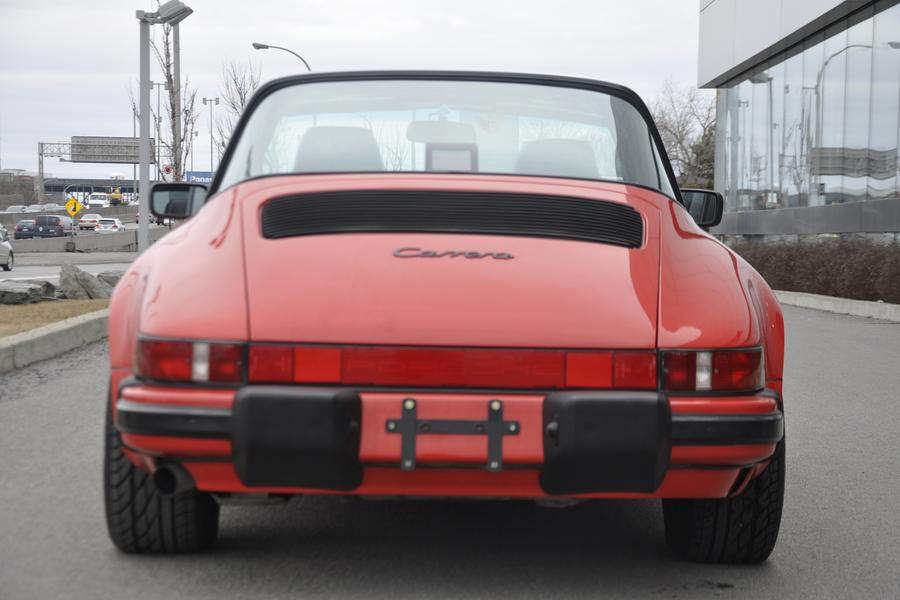 Porsche 911 G-model Carrera 3.2 Targa 160kW-version, 1987 - #24