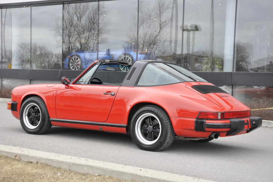 Porsche 911 G-model Carrera 3.2 Targa 160kW-version, 1987 - #25