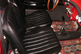 356 B T6 1600 Coupé - Main interior photo