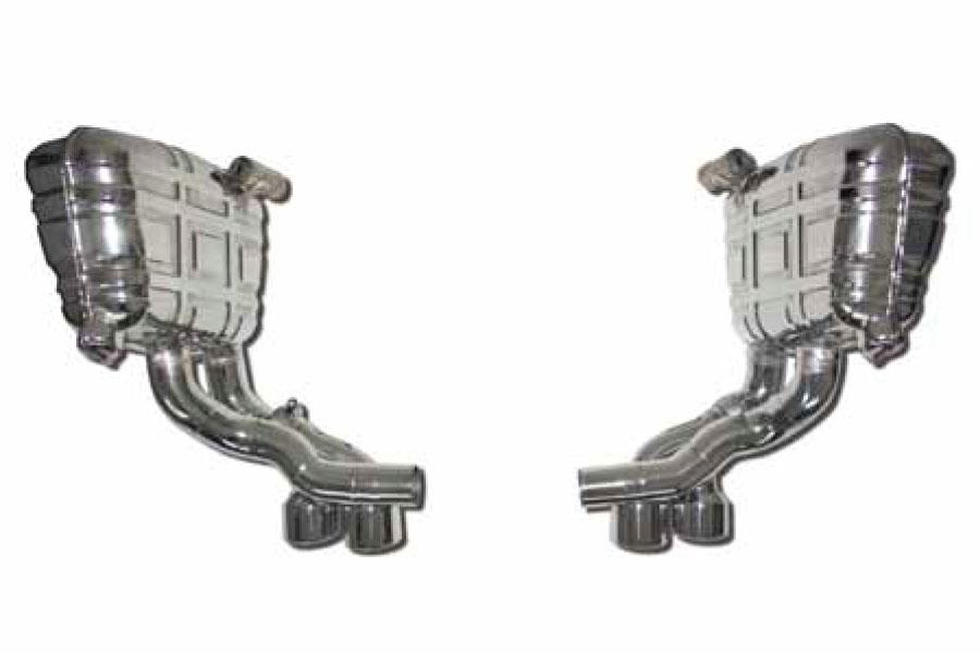 997.2 Carrera speedART sport exhaust with sound control and twin tailpipes P97 685 082 020 - #1