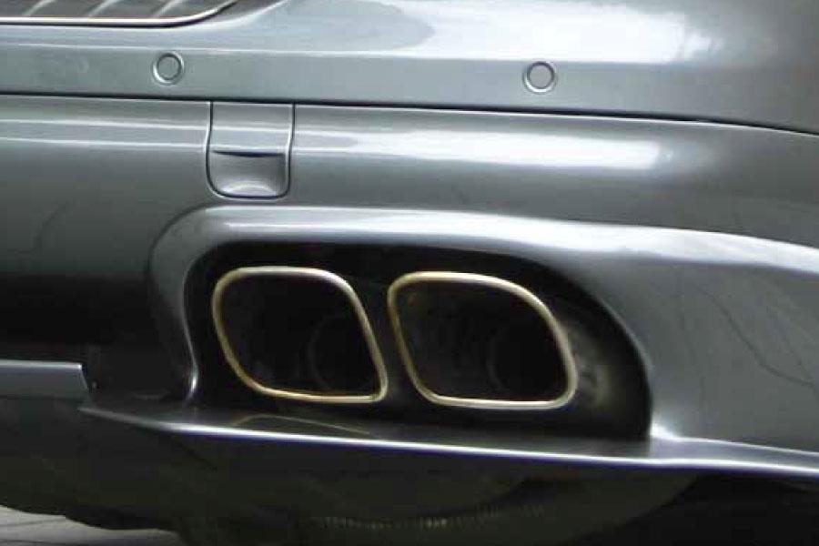 955 Turbo tailpipes for Cayenne V6 P55 680 082 030 - #1