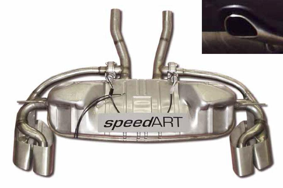 955 V8 speedART sport exhaust with sound control P55 682 081 010 - #1