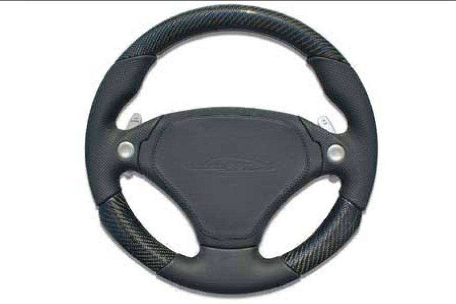 speedART F1 steering wheel 340mm, leather/carbon P87 910 230 030 - #1