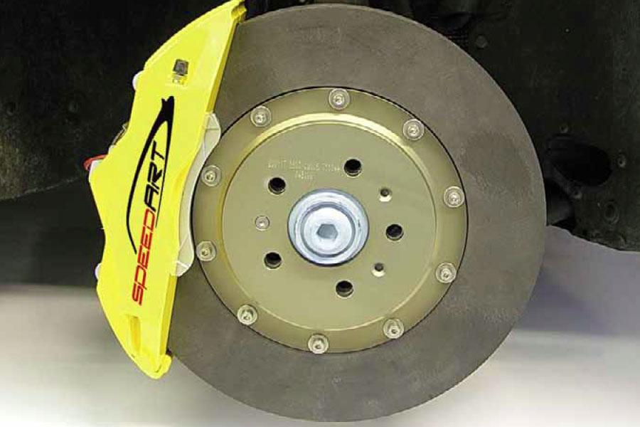 955 speedART racing brake system 396mm front / 380mm rear P55 373 396 TBR - #1