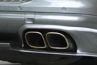 955 Turbo tailpipes for Cayenne V6 P55 680 082 030 - Primary photo
