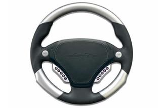 speedART multifunction steering wheel 340mm, leather/aluminium P87 910 220 020 - Primary photo