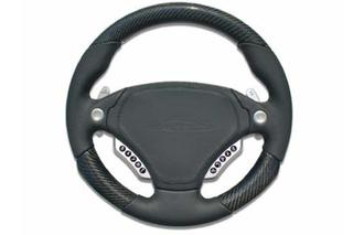 speedART F1 multifunction steering wheel 340mm, leather/carbon P87 910 230 040 - Primary photo