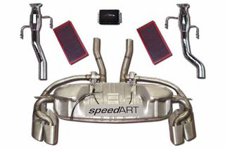 955 Turbo S speedART Powerkit II, 397 kW with sound control P55 750 040 090 - Primary photo